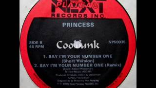 Princess - Say I'm Your Number One (12' Remix 1985)