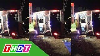 Đồng Nai: Lật xe khách, 2 người chết, 17 người bị thương | THDT