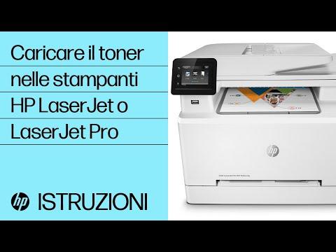 Installare le cartucce di toner nella stampante HP LaserJet o LaserJet Pro