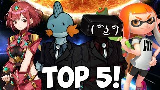 Top 5 Charaktere für Smash Bros. Ultimate! - RGE & Juan
