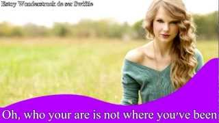 Innocent - Taylor Swift (Lyrics)