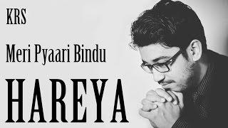 Haareya Karaoke | Meri Pyaari Bindu | Arijit Singh | Instrumental | KRS