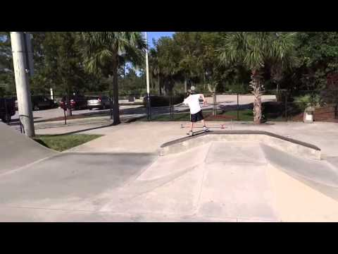 Abacoa skate montage Jupiter Florida spring 2013
