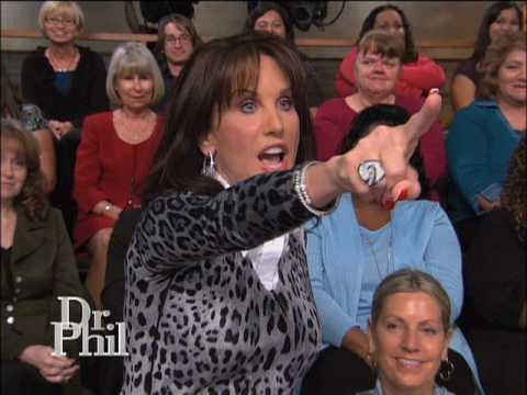 "Robin McGraw Sets a ""Bad Boy"" Straight -- Dr. Phil"