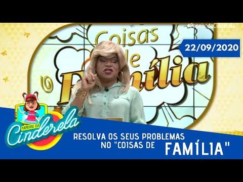 PAPEIRO DA CINDERELA - Exibido terça-feira 22/09/2020