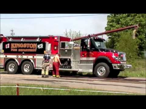 Fire at Feed Mill