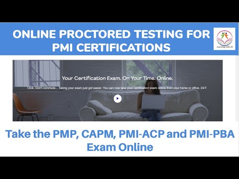 Online Proctored Testing for PMI Certifications  Take the PMP, CAPM, PMI-ACP, or PMI-PBA Exam Online