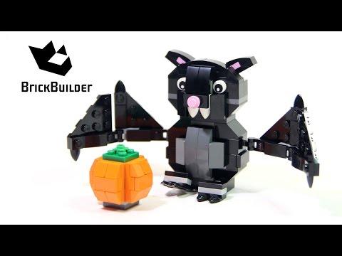 Vidéo LEGO Saisonnier 40090 : La chauve-souris d'Halloween