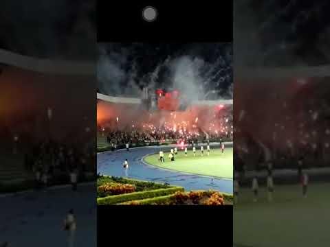 """""""Recibimiento Deportes QUINDIO"""" Barra: Artillería Verde Sur • Club: Deportes Quindío"""