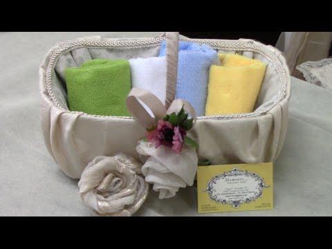 Il cestino portaoggetti per bagno, camera e cucina - VIDEO-TUTORIAL