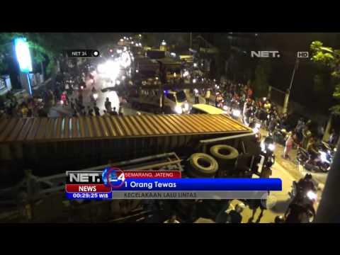 Kecelakaan Lalu Lintas di Semarang Telan Korban - NET24