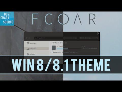 Windows 8/8.1 Theme: FCOAR 8