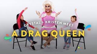 Kids Meet A Drag Queen (Crystal & Kristen) | Kids Meet | HiHo Kids