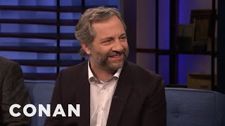 """Judd Apatow: Jay-Z & Beyoncé Are Huge """"Knocked Up"""" Fans - CONAN on TBS"""