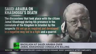 Saudis admit missing journalist Khashoggi died in accidental 'fistfight' inside consulate