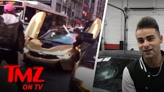 Youtuber Coby Persin's $200k BMW Gets Smashed With A Baseball Bat | TMZ TV