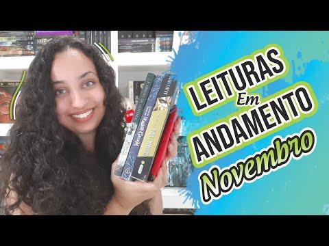 Minhas leituras em andamento Novembro | Karina Nascimento | Paraíso dos Livros