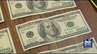 Be on the lookout for counterfeit cash and learn how to spot the difference