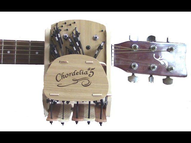 Устройство Chordelia позволит играть на гитаре без всякого обучения