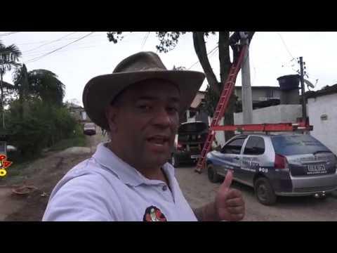 Chegou Chegou a Internet de Fibra chegou com Alta Velocidade na Favela do Justinos Morro do Kiabo