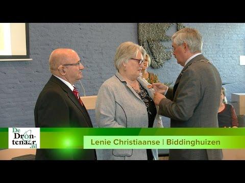 VIDEO   Lenie Christiaanse heeft waslijst aan functies 'gewoon omdat het leuk is'