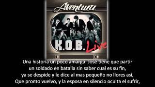 Aventura - José (lyric - letra)