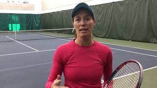 Tuesday Tennis Tips: Practicing return of a lefty serve