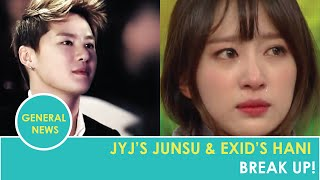 JYJ's Junsu and EXID's Hani Have Broken Up!