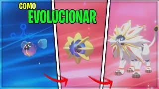 Cosmoem  - (Pokémon) - como EVOLUCIONAR  a COSMOG , COSMOEM a SOLGALEO y LUNALA en POKEMON ESPADA y ESCUDO