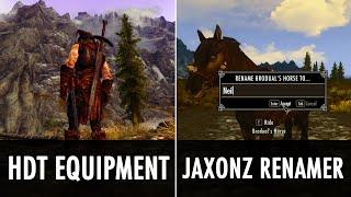 Skyrim Mod: HDT Equipment & Jaxonz Renamer