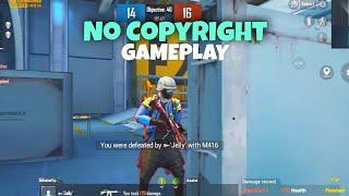 No Copyright Gameplay BGMI | Free to use Gameplay | BATTLEGROUND MOBILE INDIA