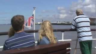 preview picture of video 'Mersey Ferry Trip'
