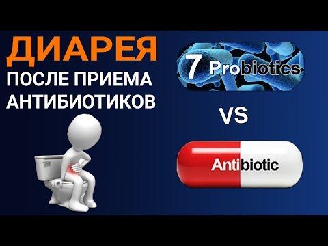 Антибиотики и диарея. Нужны ли пробиотики? Как предупредить понос после приема антибиотиков?