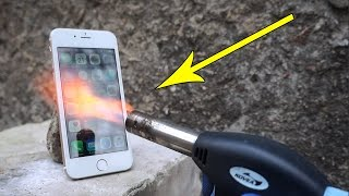 IPHONE vs GAS TORCH