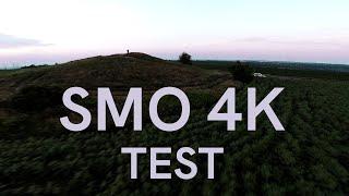 SMO 4K BetaFPV after sunset lighting test