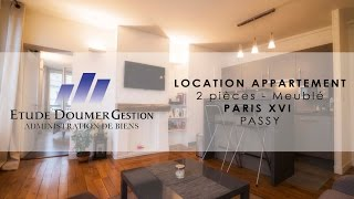 preview picture of video 'Location 2 pieces Paris 16'