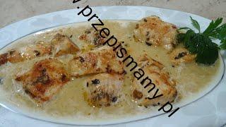 Filet z kurczaka w sosie cebulowym! Jak zrobić filet z kurczaka w sosie cebulowym