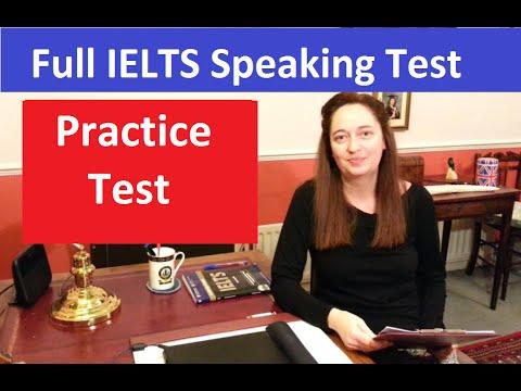 IELTS Speaking Test: Practice & Model Answers