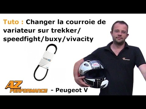 Changer la courroie de variateur de son Speedfight 1-2 / Trekker / Buxy / ...