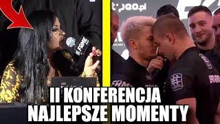 FAME MMA 3 - II KONFERENCJA NAJLEPSZE MOMENTY! LINKIEWICZ, GODLEWSKA i INNI!