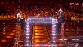 HD HDTV ROMANIA ESC Eurovision Song Contest 2nd semifinal - Paula Seling & Ovi - Playing With Fire