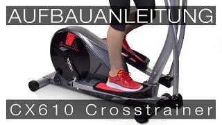 SPORTSTECH Crosstrainer CX610 - Aufbauanleitung/construction/structure/estructura/struttura