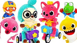 Let's go camping on a bicycle with Pinkfong & Hogi~ #PinkyPopTOY