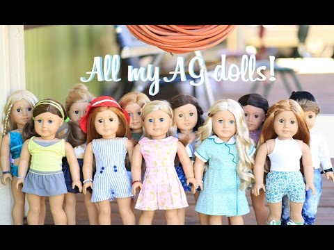 All Of My American Girl Dolls || March 2016 ♡