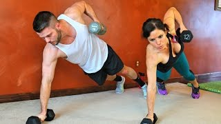 20 Minute Boot Camp: Full Body Fat Burning Workout by Melissa Bender