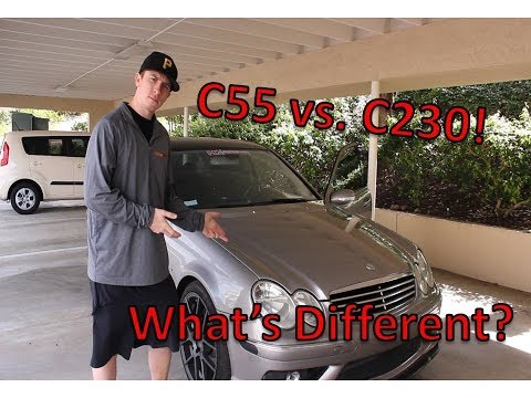 Download Mercedes C55 AMG Vs. C230 ... What's Different?? HD Mp4 3GP Video and MP3