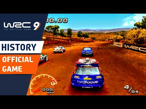 History of Official WRC Rally Games