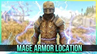 Skyrim Mage Armor – Spell Knight Armor Location – (New Creation Club Mods Content)