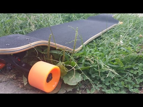 Unboxing/Review of 41 inches Drop Down Longboard. Boosted Board Brother-in-law?