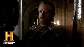 King Ecbert Discusses Paganism with Athelstan (Sneak Peek)